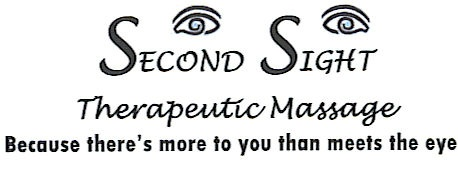 Second Sight Therapeutic Massage, Because there's more to you than meets the eye.